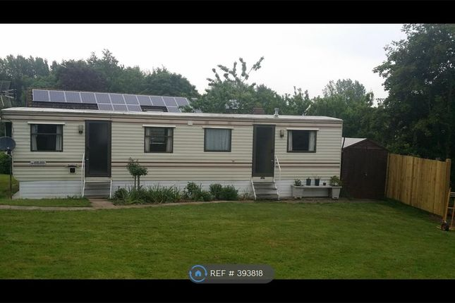Thumbnail Mobile/park home to rent in Wolvershill, Banwell