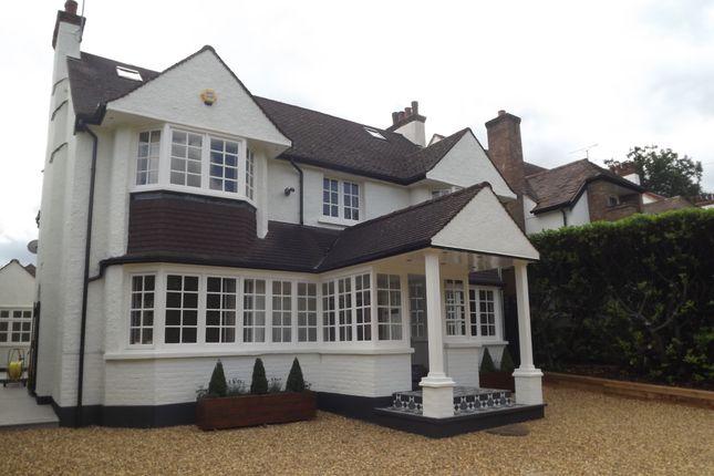 Thumbnail Detached house to rent in Aldenham Avenue, Radlett