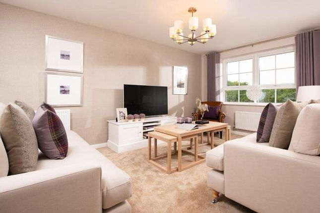 "Thumbnail Detached house for sale in ""Halton"" at Newton Lane, Wigston"