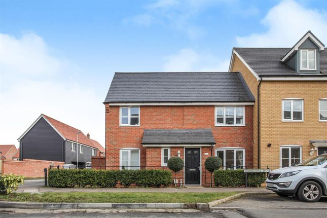 3 bed end terrace house for sale in Summers Hill Drive, Papworth Everard, Cambridge