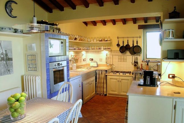 Kitchen of La Torretta, Grutti, Todi, Umbria