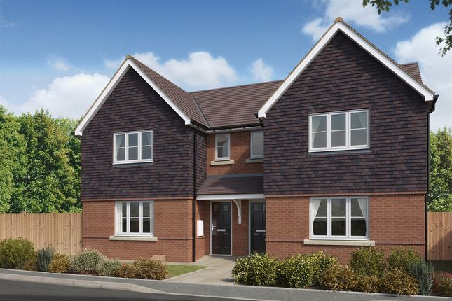 """Thumbnail Semi-detached house for sale in """"The Hatfield """" at Brookers Hill, Shinfield, Reading"""
