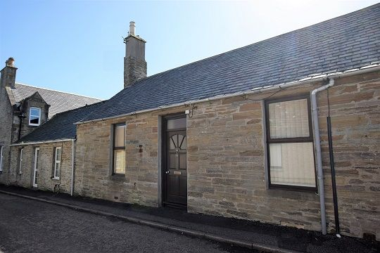 Thumbnail Terraced bungalow for sale in 6 East Church Street, Thurso