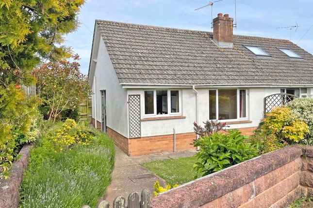 Thumbnail Bungalow to rent in Raleigh Close, Sidmouth