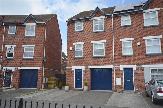 Thumbnail Town house for sale in Grey Meadow Road, Ilkeston