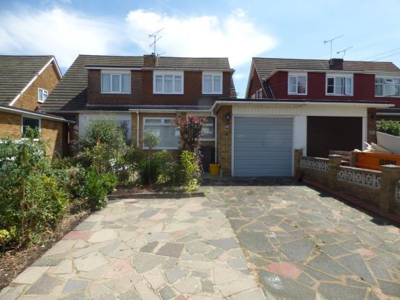 Semi-detached house for sale in Benfleet, Essex, Uk