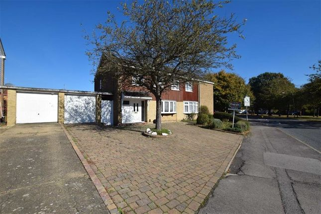 Thumbnail Semi-detached house for sale in Sparrows Herne, Basildon, Essex