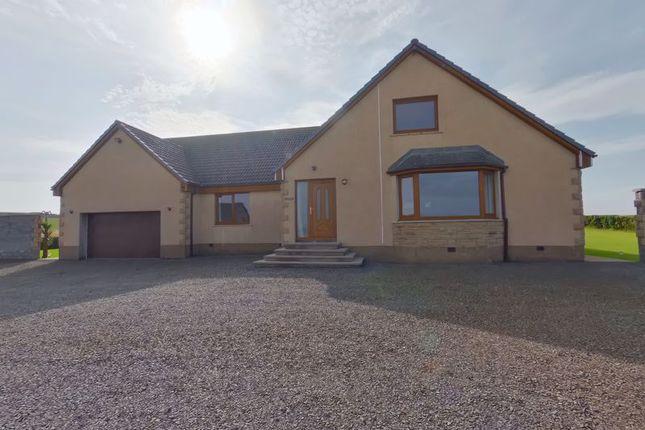 Thumbnail Detached bungalow for sale in Murkle, Thurso