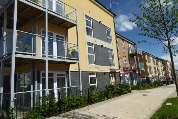 Thumbnail Flat to rent in Hitchings Leaze, Patchway, Bristol