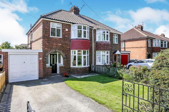 Thumbnail Semi-detached house for sale in Boroughbridge Road, York