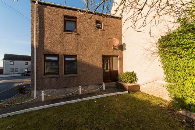 Thumbnail End terrace house for sale in Strathbeg Court, Fraserburgh, Aberdeenshire