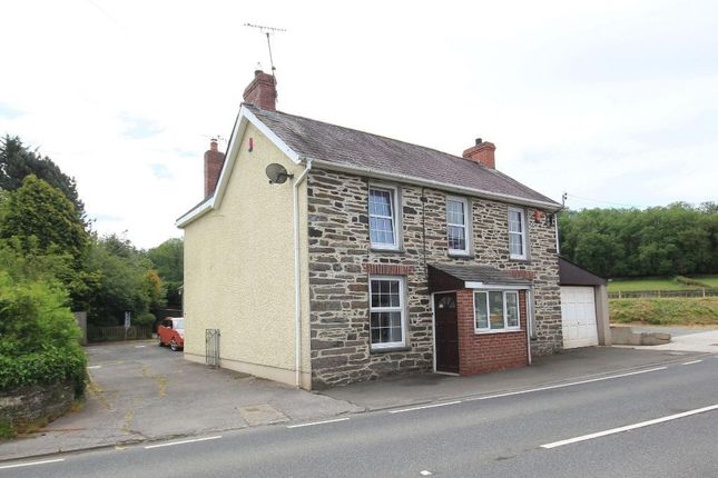 Thumbnail Detached house for sale in Pentrecwrt Road, Llandysul, Carmarthenshire