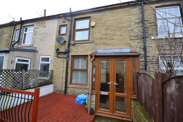 Thumbnail Terraced house for sale in Wellington Street, Queensbury, Bradford