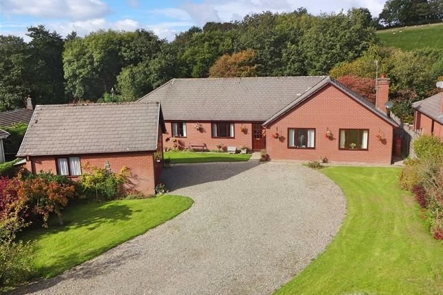 Thumbnail Bungalow for sale in Nantlas, Brooks Road, Tregynon, Newtown, Powys