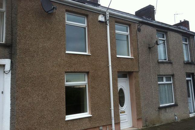 Thumbnail 3 bed terraced house for sale in Gwendoline Terrace, Maesteg, Bridgend.