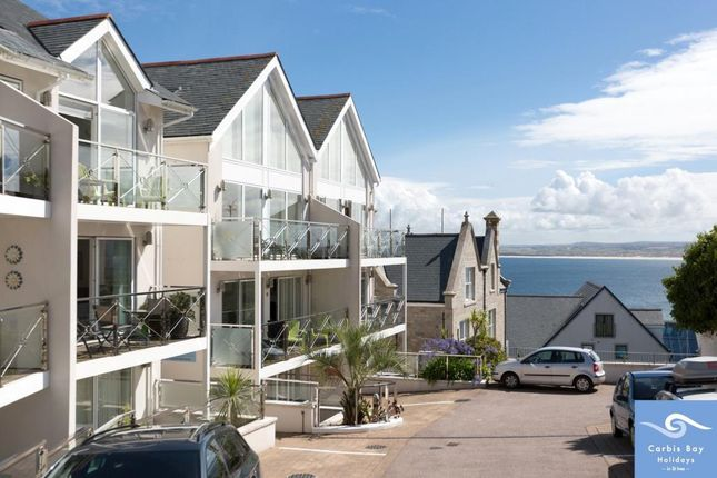 Thumbnail Flat for sale in Gallinas Point, Talland Road, St. Ives, Cornwall