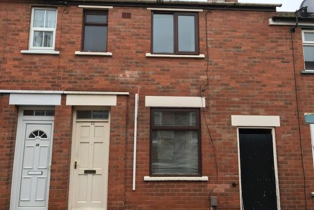 Thumbnail Terraced house to rent in Percy Street, Derby