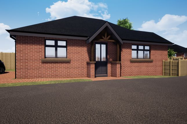 Thumbnail Detached bungalow for sale in Plot 1, New Builds, Haddon Street, Sutton-In-Ashfield