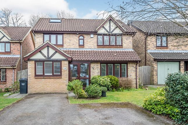 Thumbnail Detached house for sale in Roman Close, Blue Bell Hill, Chatham