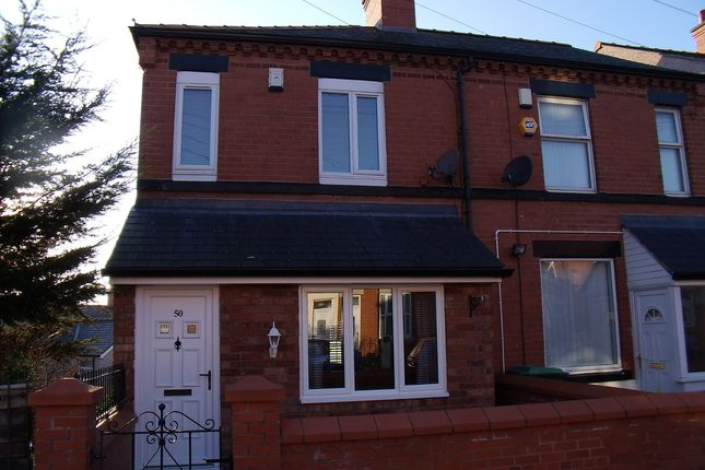 Thumbnail Semi-detached house for sale in Bertie Road, Smithfield, Wrexham