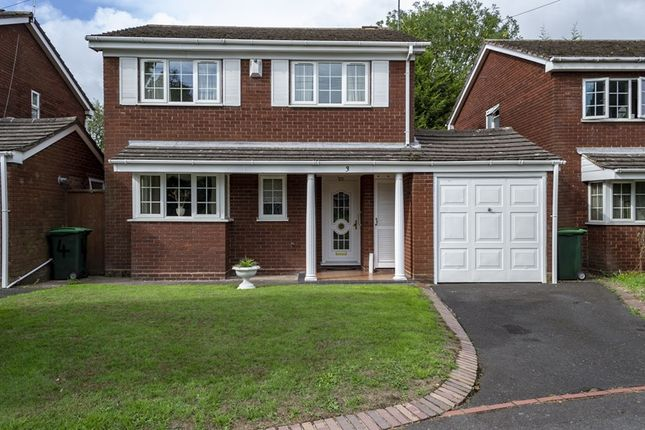 Thumbnail Detached house for sale in Leahouse Gardens, Oldbury, West Midlands