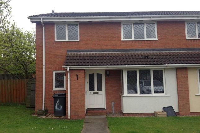 Thumbnail Semi-detached house to rent in Measham, Swadlincote, Derbyshire
