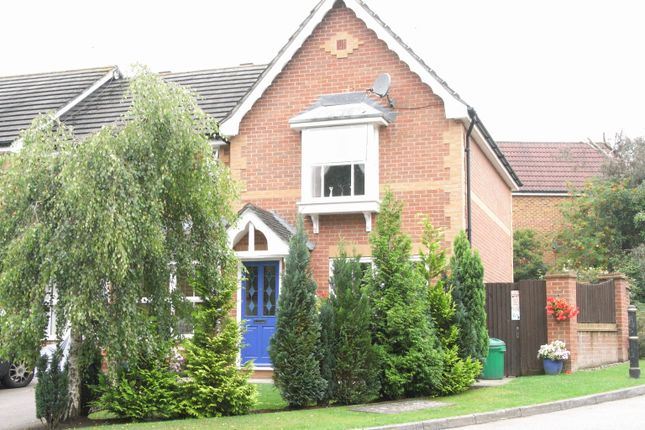 Thumbnail End terrace house to rent in Bennett Close, Maidenbower, Crawley