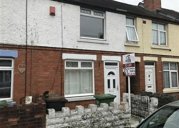 Thumbnail Terraced house to rent in Clifton Road, Nuneaton