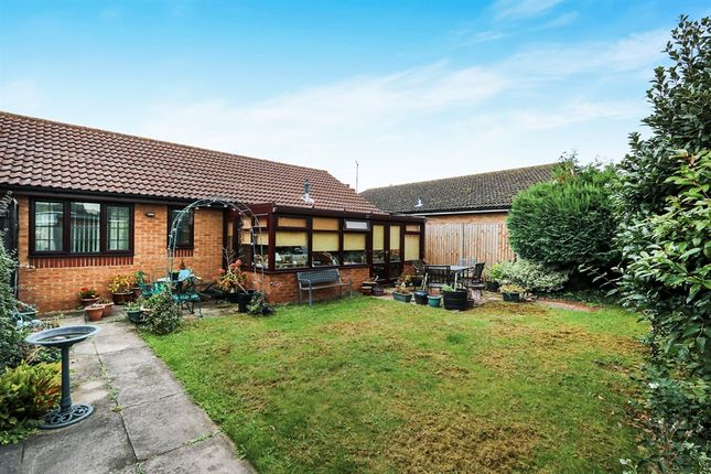 2 bed detached bungalow for sale in Heyford Court, Mildenhall, Bury St. Edmunds