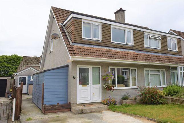 Thumbnail Semi-detached house for sale in Beech Close, Tavistock