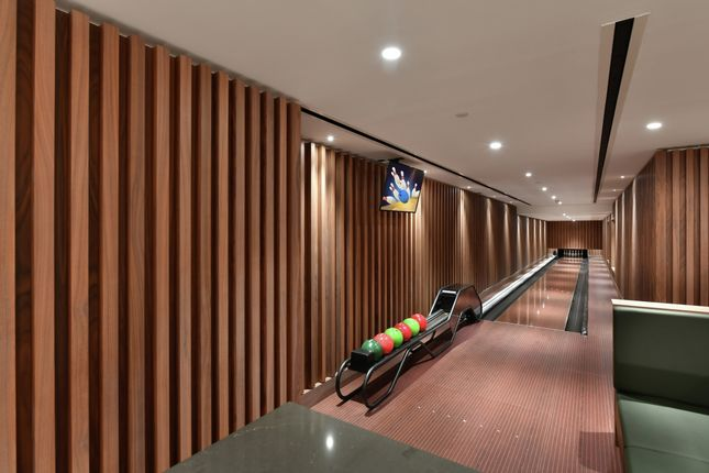 Bowling Alley of Albert Embankment, London SE1