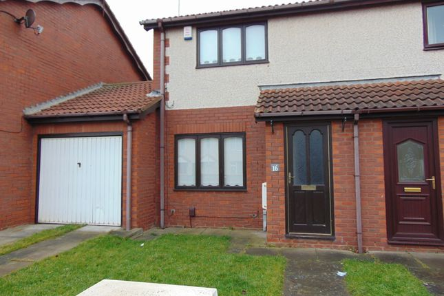 Thumbnail Semi-detached house to rent in Shields Terrace, Hartlepool