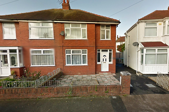 Thumbnail Semi-detached house to rent in Gretna Crescent, Thornton-Cleveleys