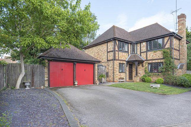 Thumbnail Detached house for sale in Buttercup Close, Wokingham