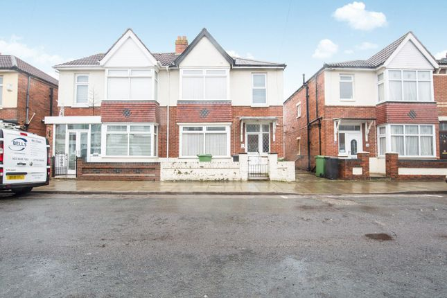 Thumbnail Semi-detached house to rent in Inhurst Road, Portsmouth