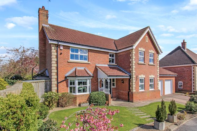 Thumbnail Detached house for sale in Aislabie Garth, Ripon, North Yorkshire