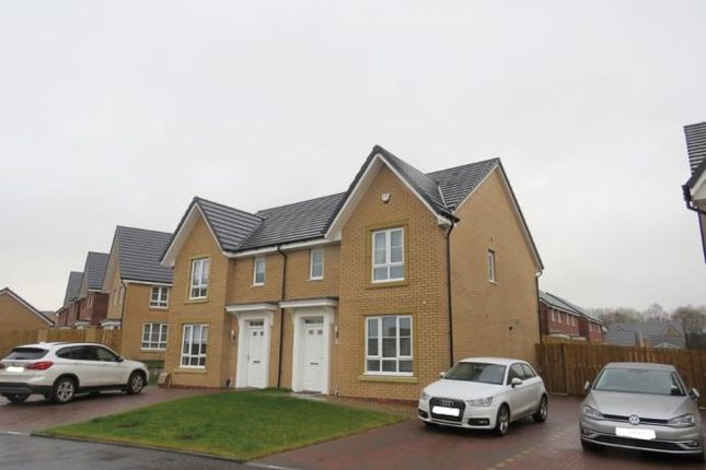 Thumbnail Semi-detached house to rent in Brock Place, Motherwell