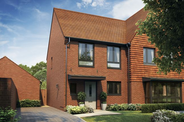 Thumbnail Semi-detached house for sale in The Singleton, Halstead Lanes, Kings Road, West End, Woking, Surrey