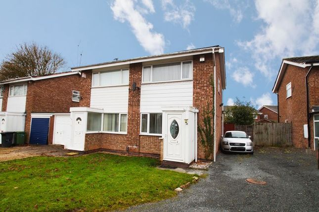 Thumbnail Semi-detached house for sale in Donnington Close, Redditch