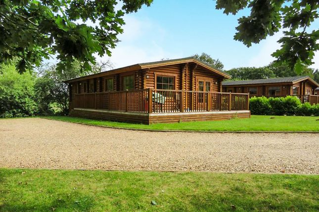 Thumbnail Mobile/park home for sale in Old Church Road, Frettenham, Norwich