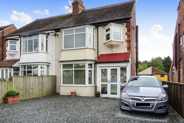 Thumbnail Semi-detached house for sale in Bellfield Avenue, Hull
