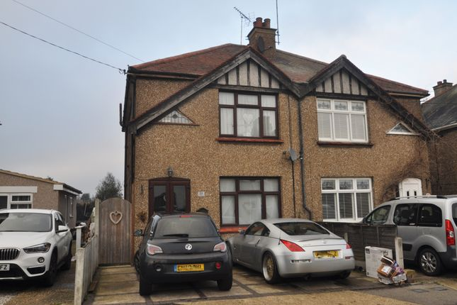 Thumbnail Semi-detached house for sale in The Avenue, Hadleigh, Benfleet