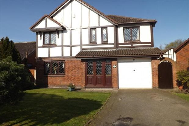 Thumbnail Detached house to rent in Sandicroft Close, Birchwood, Warrington