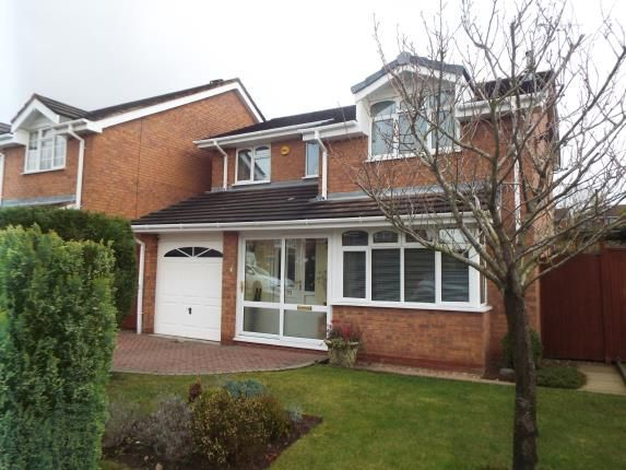 Thumbnail Detached house for sale in Peterborough Drive, Heath Hayes, Cannock, Staffordshire