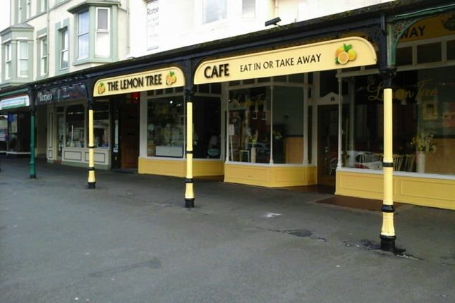 Thumbnail Restaurant/cafe for sale in 25 Lloyd Street, Llandudno