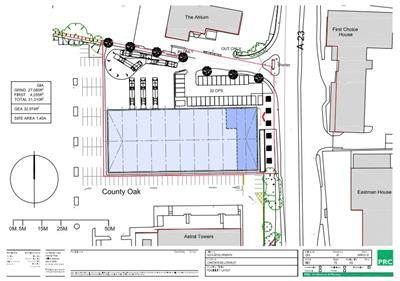 Thumbnail Light industrial to let in Gatwick 33, London Road, Manor Royal Business District, Crawley