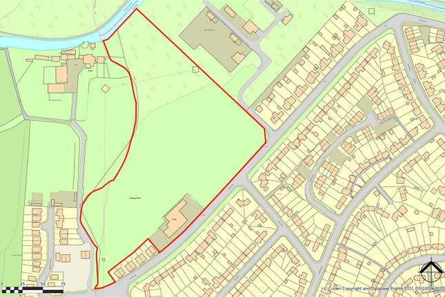 Thumbnail Land for sale in Former Social & Sports Club, Station Road, Hollingwood, Chesterfield