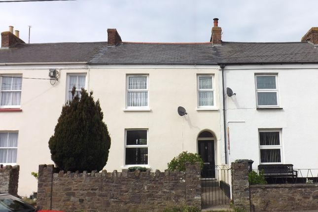 Thumbnail Terraced house to rent in The Terrace, Bickington