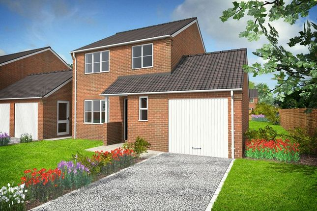 Thumbnail Detached house for sale in Cumberland Way, Scampton, Lincoln