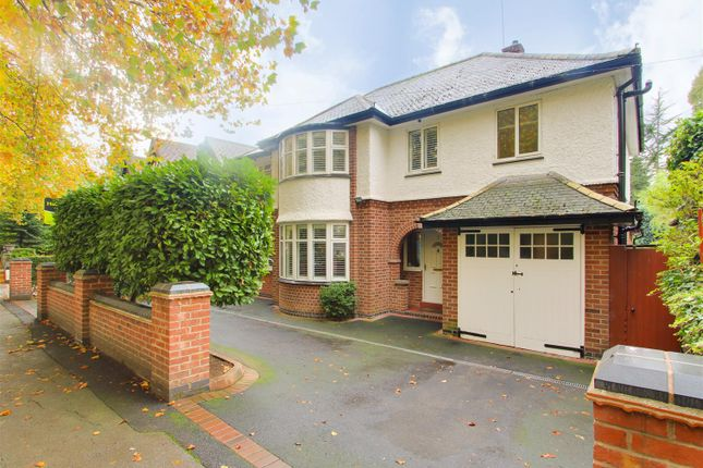 Thumbnail Detached house for sale in Wollaton Vale, Wollaton, Nottinghamshire